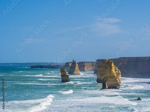 Foto op Aluminium Cathedral Cove TWELVE APOSTLES - GREAT OCEAN ROAD, AUSTRALIA