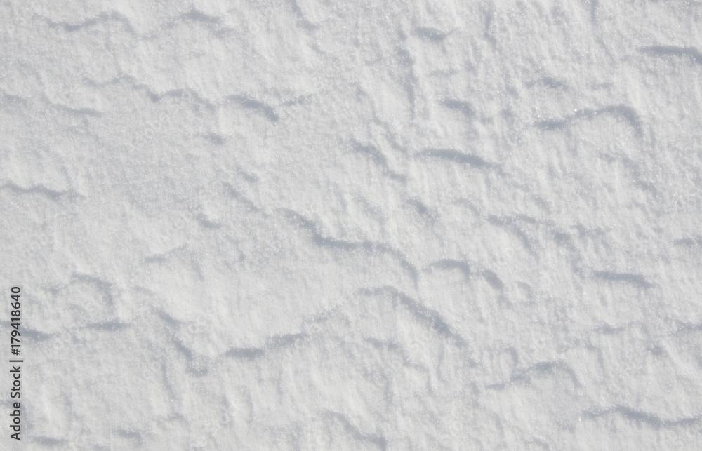 Fototapeta white snow texture
