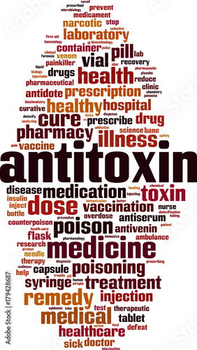 Photo Antitoxin word cloud