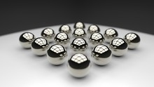 Metal Glossy Balls