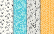 Abstract Decorative Doodle Nat...