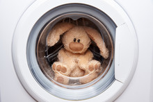 Soft Toy Hare In The Washing M...