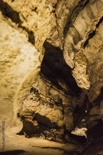 Mammoth Cave National Park Kentucky Darkness Creepy Stalagmites Stalactites