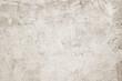canvas print picture - Blank white grunge cement wall texture background, banner, interior design background