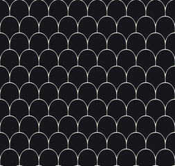 FototapetaVintage Art Deco Seamless Pattern. Geometric decorative texture.