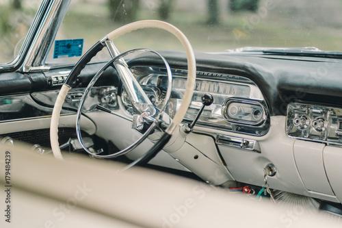 Plakat Kierownica Cadillac