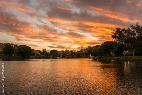 Foto op Plexiglas Landschappen sunset