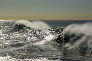 Fototapeta Morze storm swells
