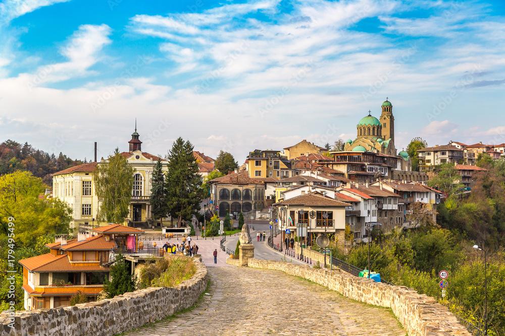 Fototapety, obrazy: Tsarevets Fortress in Veliko Tarnovo