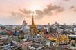 Bangkok Thailand: May 21, 2017 - Wat Trimitre, largest golden Buddha sculpture in the world is at this temple.