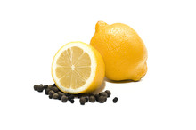 Lemon And Black Pepper. One Wh...