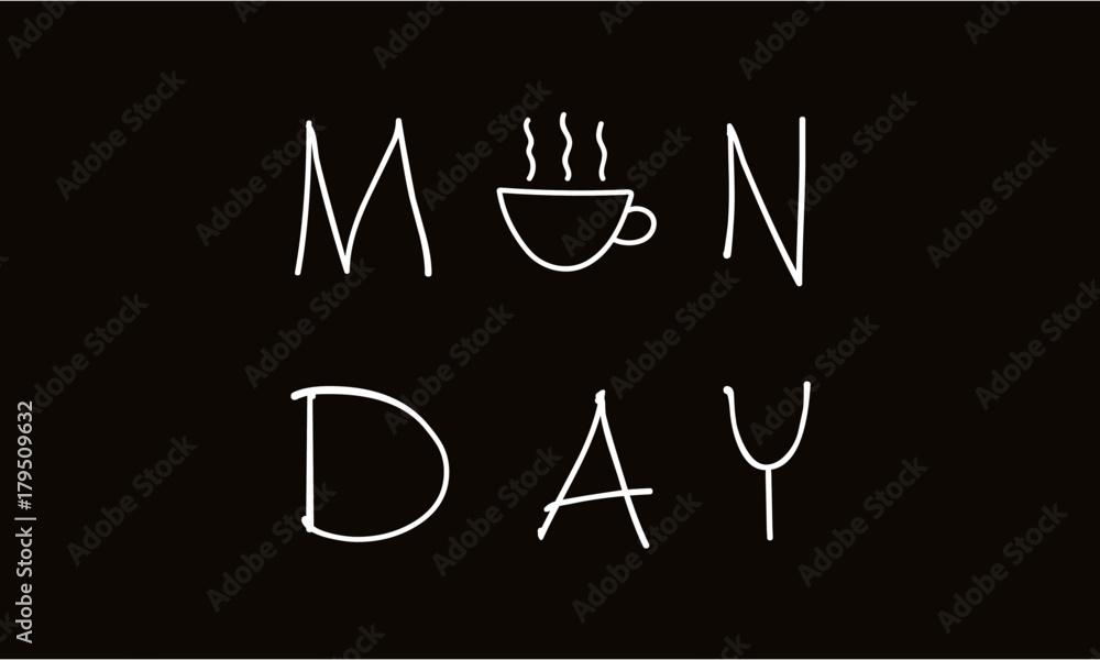 Fotografie, Obraz Monday coffee