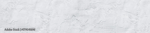 Poster Wand header panorama white textured concrete