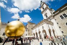 Salzburg Mozart Gold Ball