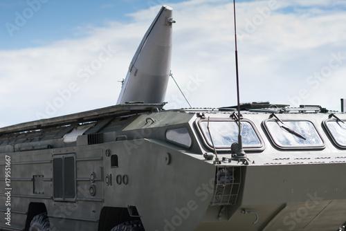 Fototapeta Mobilny taktyczny system rakiet ziemia-powietrze