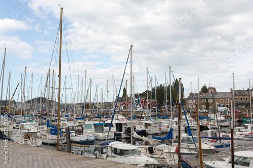 Foto auf AluDibond Stadt am Wasser Port de plaisance à Paimpol