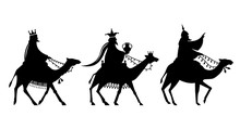 The Magi On The Way To Jesus.