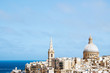 cityscape of architecture in valletta malta