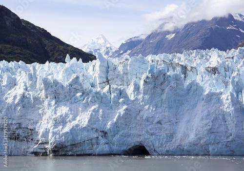 Photo Stands Night blue Alaska's Glacier Bay Scenic
