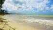 Sea thunderstorm cloud hurricane irma Dominican Republic