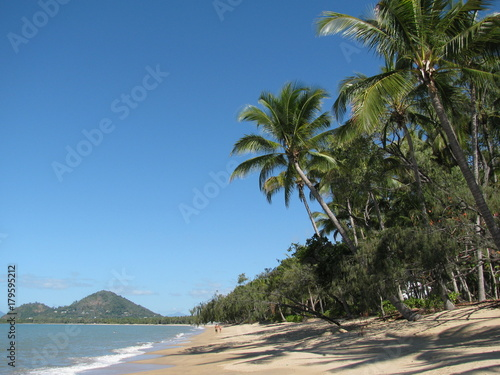 The Beach at Palm Cove in Cairns, Queensland, Australia