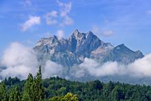 Mount Pilatus In Switzerland