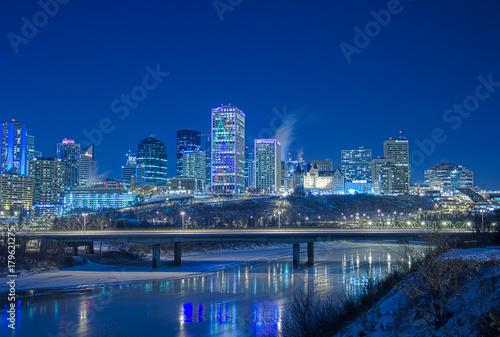 Plakat Edmonton Skyline