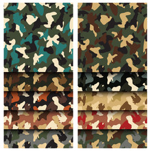 Camouflage Clothing Seamless P...