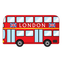 Vector London Red Bus. Vector ...