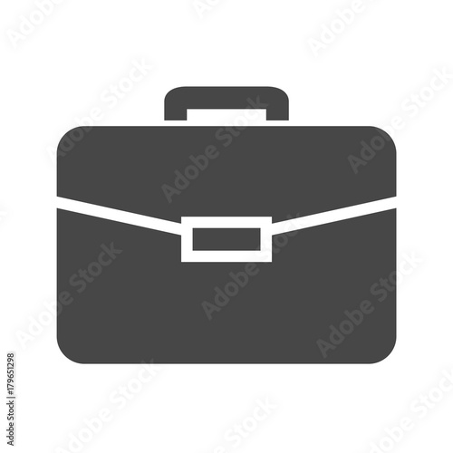 Photo Briefcase Flat Vector Icon