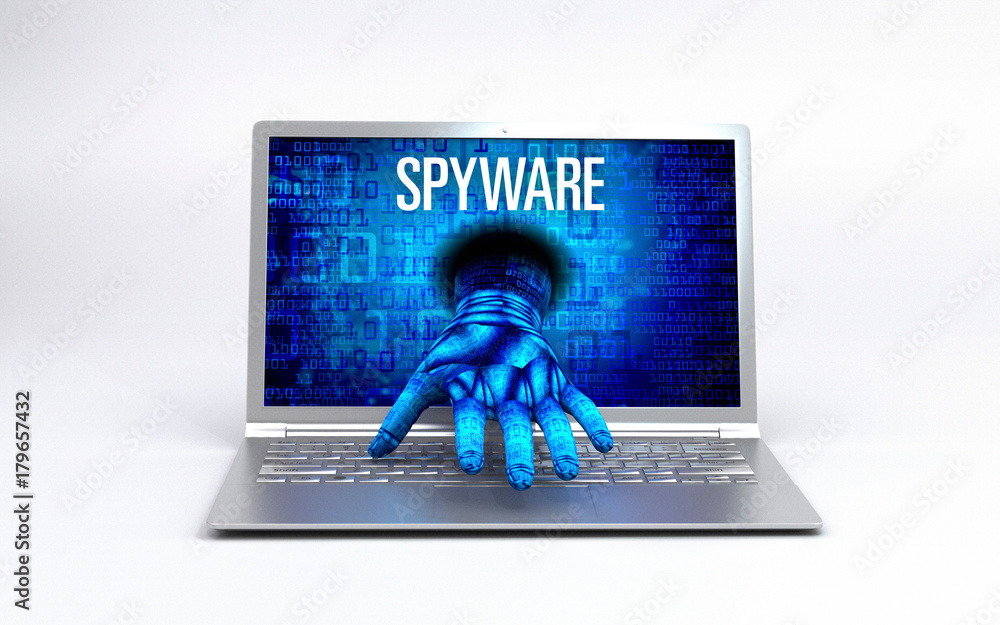 Fototapeta Virus - hacked Computer