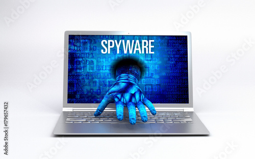 Fotografía  Virus - hacked Computer