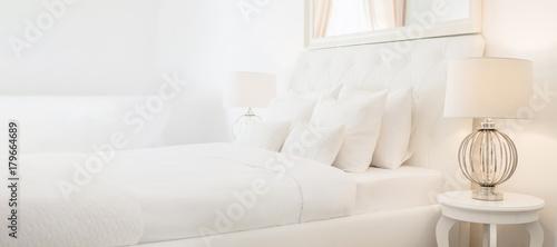 fototapeta na ścianę Interior Design Bedding Luxury Home Decor