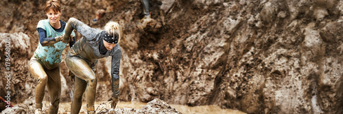 Fotografering Mud race challenge
