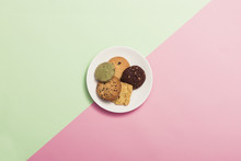Cookies On The Color(green, Pi...