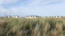 Cabanes De Ouistreham Riva-Bella, Normandie