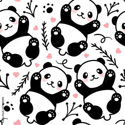 slicznej-kreskowki-pandy-bezszwowy-deseniowy-tlo-wektorowa-ilustracja