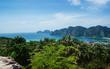 View of the island Phi Phi Don from the viewing point,Thailand.