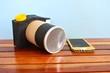 Kamera und Smartphone selbstgebastelt