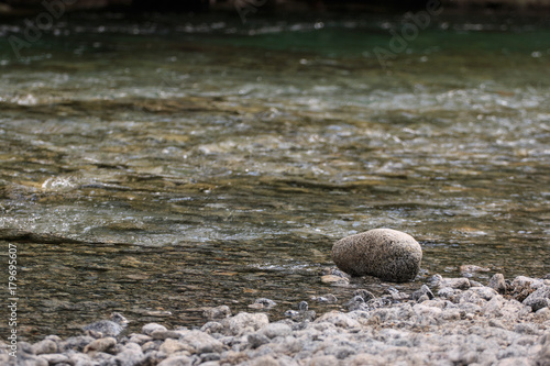 fiume in val di Mello Canvas Print