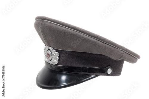 Photo alte originale mütze der ddr armee