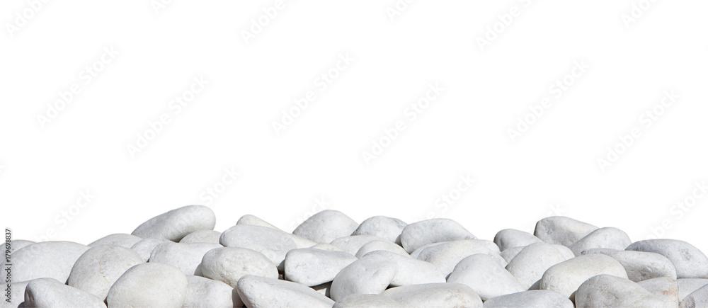 Fototapety, obrazy: piedras blancas aisladas