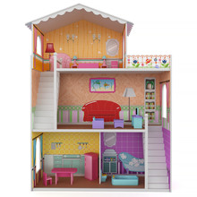 3d Rendering Of A Doll House O...