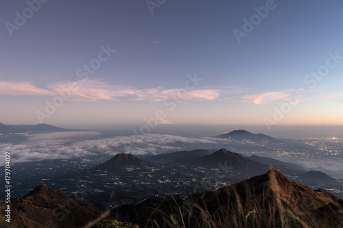 Foto op Plexiglas Indonesië Sunrise over Java, Indonesia