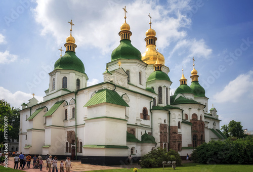Fotografie, Obraz Saint Sophia Cathedral in Kyiv is an outstanding architectural monument of Kievan Rus