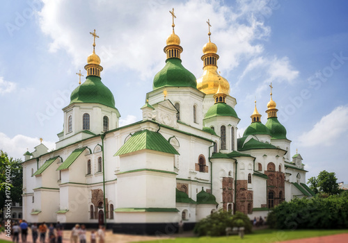 Fototapeta Saint Sophia Cathedral in Kyiv is an outstanding architectural monument of Kievan Rus
