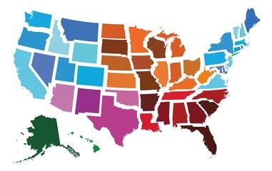 USA Administrative Regional...