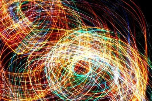 Fotoni ed elettroni colorati