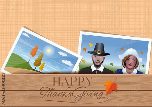 Cuadros en Lienzo Happy Thanksgiving