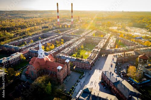 Nikiszowiec Jesień Katowice